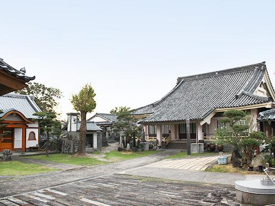 南島原市西有家町の長寿山龍泉寺